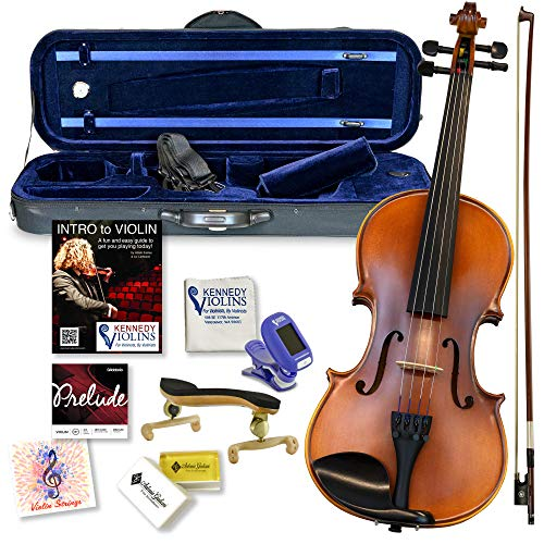 Ricard Bunnel G2 Violin Outfit Clearance 1/4 Size - Carrying Case and...