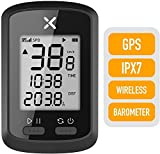 Bike Computer GPS IPX7 Waterproof Bike Speedometer Odometer Bluetooth Bicycle Computer mph G