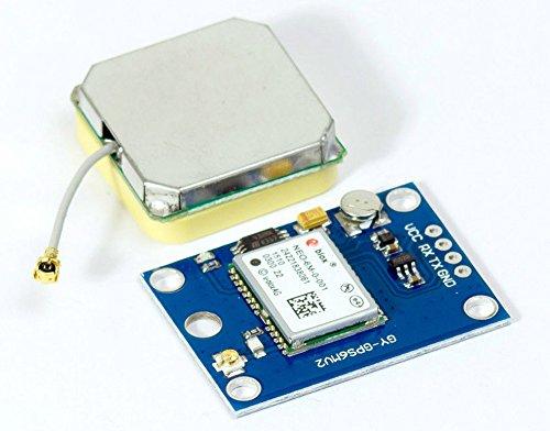MissBirdler Neo-6M GPS Modul GY-GPS6MV2 für Arduino Raspberry Pi Multiwii APM Naze32 Flip32