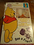 Winnie the Pooh Bee a Friend Stencil & Stamp Set for Nursery Child Room Decor Walls Furniture