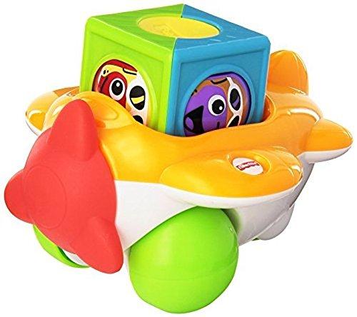 Fisher Price Kullerwürfel Flugzeug - Babyspielzeug - Mattel