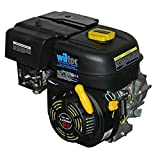 Wiltec LIFAN 168 Motore a Benzina 4,8 kW 6,5 CV 196 CCM con Frizione a Bagno d´Olio e riduzione 2:1 Kart