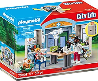 PLAYMOBIL 70309 City Life Vet Clinic Play Box, for Children Ages 4+ (B0826CKQR8) | Amazon price tracker / tracking, Amazon price history charts, Amazon price watches, Amazon price drop alerts