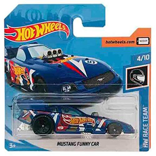 Hot-Wheels Mustang Funny Car HW Race Team 4/10 (212/250) 2019