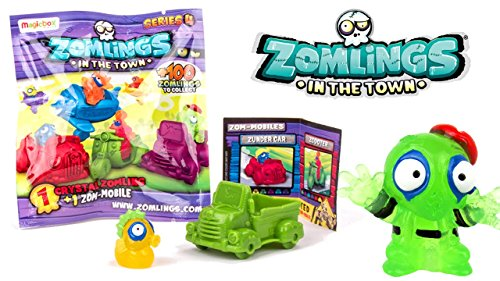 Sobre Zomlings Serie 4 - MagicBox P00737