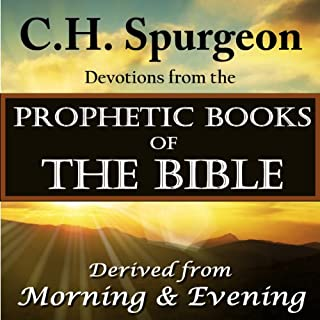 Spurgeon Devotions from the Prophetic Books of the Bible audiobook cover art