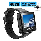 Flysight FPV Watch 5.8Ghz Wireless RC Video Drone Watch 48 CH HD 2' LCD Monitor Screen Watch Real-Time Video Display for Drone Your One More Nice Choice Besides Flysky Topsky Boscam Gteng FPV Watch