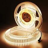 JOYLIT 24V LED Strip Lights Warm White 11200lm CRI 90+, UL Listed 16.4ft Ultra...