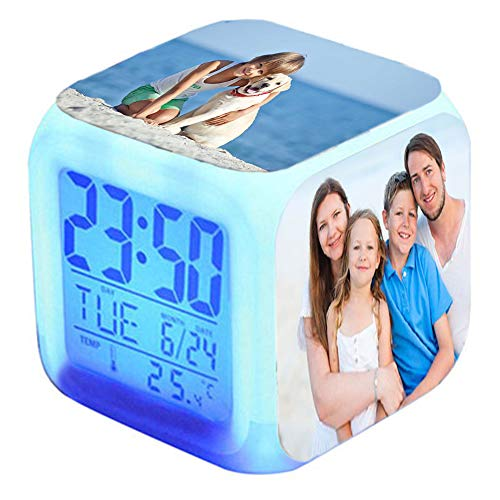 Twinkle Reloj Despertador Personalizado 4 Caras - Un Regalo para niño