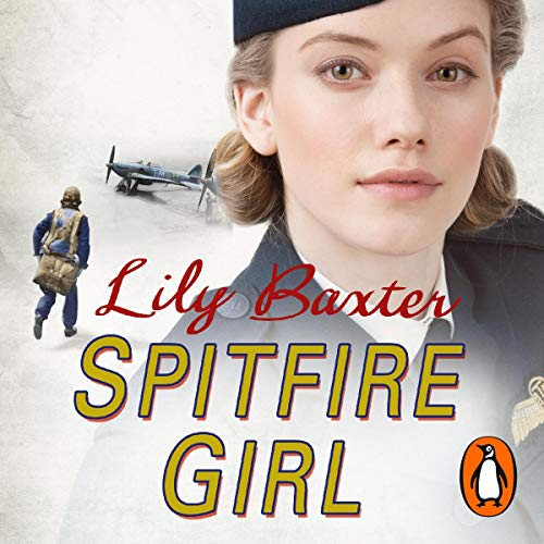 Spitfire Girl audiobook cover art