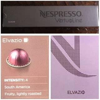 10 Capsules Nespresso VertuoLine Elvazio Coffee