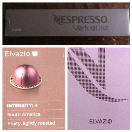 10 Kapseln Nespresso VertuoLine Elvazio Kaffee