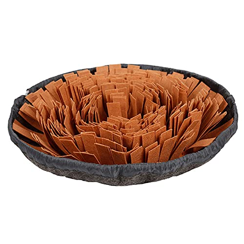 HMHMVM Pet Snuffle Mat for Dogs Interactive Feed Game for Boredom Encourages Natural Foraging Skills for Cats Dogs Bowl Travel