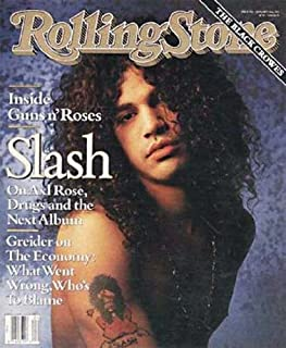 SLASH ISSUE # 596---ROLLING STONE MAGAZINE JANUARY 24TH, 1991 [Paperback] by ...