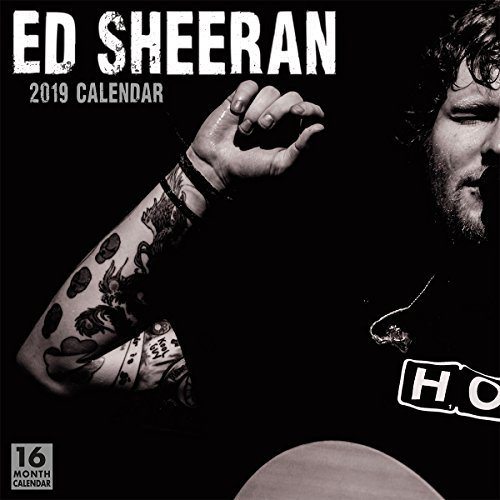 2019 Ed Sheeran 16-Month Wall Calendar: by Sellers Publishing, 12x12 (CA-0384)