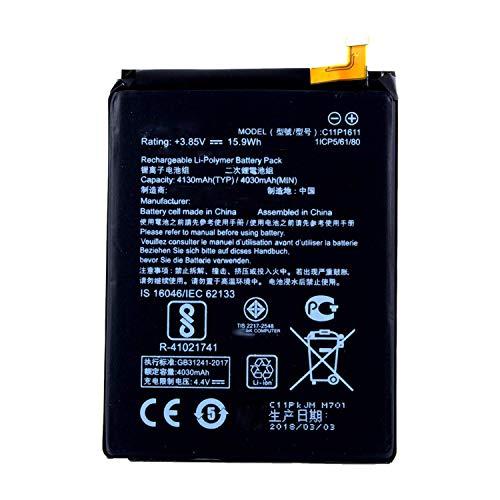 WYGUO C11P1611 Sostituzione della Batteria per ASUS Zenfone 3 Max, ZenFone 3 Max 5.5, ZC520TL ZC553KL(3.85V 15.9Wh)