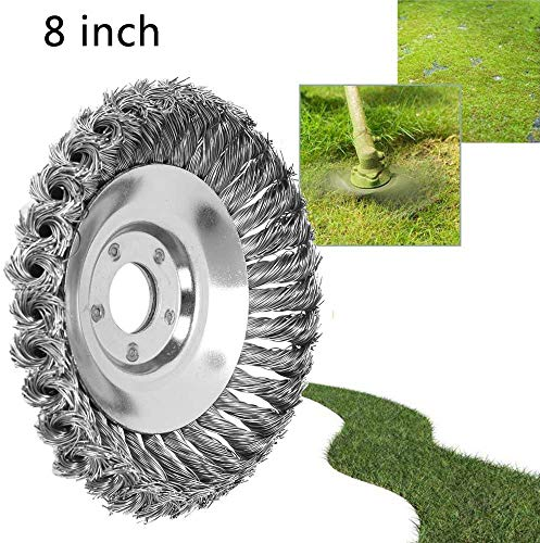 Purchase XSDCLOWN The Indestructible Trimmer Head, Steel Wire Wheel Brush Grass Cutter Trimmer Head ...