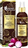 Glamorous Hub Oriental Botanics Red Onion Hair Oil 200ml With Argan Oil Castor Bhringraj Almond 30 Aceites y extractos Repara el cabello dañado (sin aceite mineral)
