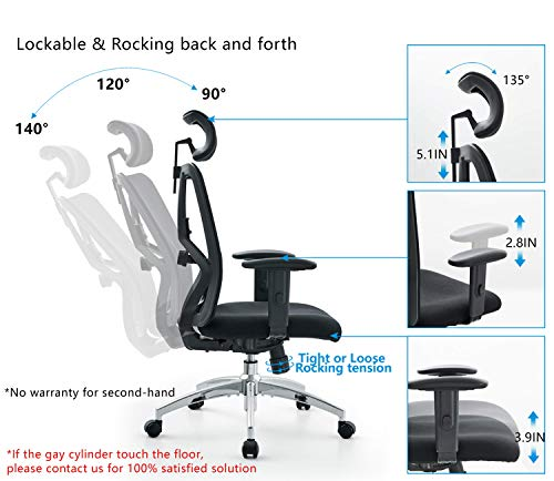 Ticova Ergonomic Office Chair Review