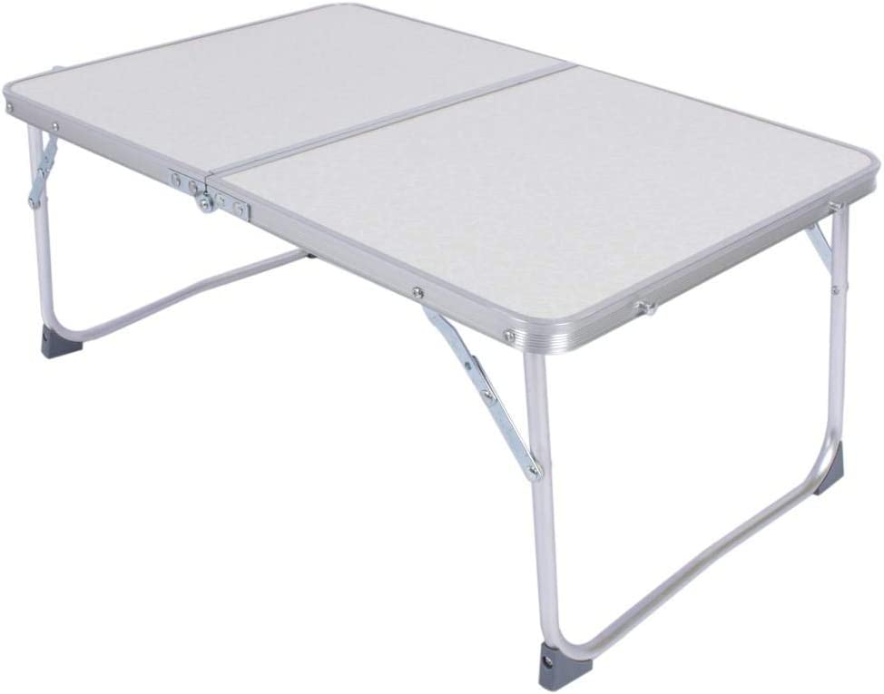 Vbestlife Folding Regular store Standing Desk Aluminum O Table Small Portable Max 81% OFF