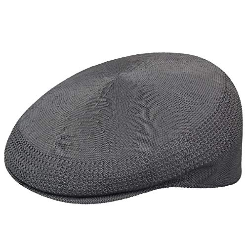 Kangol Herren Flatcap Tropic Ventair 504, Grau (Charcoal), XL