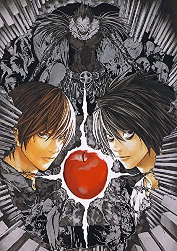 hengyuanxiang Anime Japonés Death Note Papel Recubierto Carteles Blancos Café Papel Tapiz Creativo Hogar Bar Decoración Interior 53 Estilo T877 50X70Cm