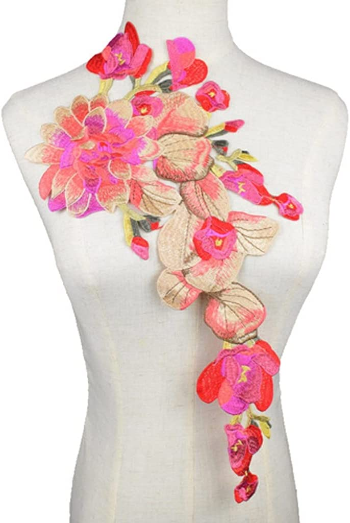 GYZX 1PC Limited time for free shipping Flower Lace Embroidered Fa Neckline Collar Trim Popular Clothes