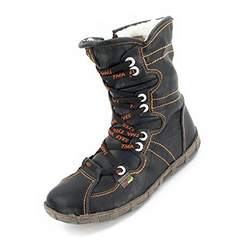 TMA Damen Winter-Boots 2013 Schwarz 37
