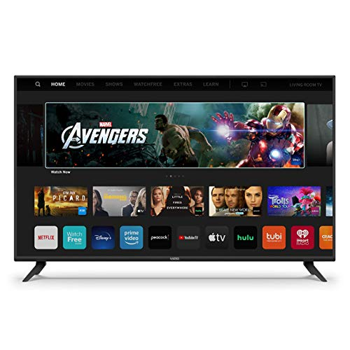 VIZIO 65-Inch V-Series 4K UHD LED HDR Smart TV with Apple AirPlay and Chromecast Built-in, Dolby Vision, HDR10+, HDMI 2.1, Auto Game Mode and Low Latency Gaming (V655-H19) (Renewed)
