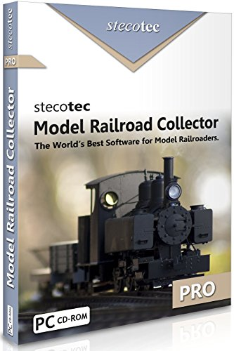 Model Railway Software: Stecotec Model Railroad Collector Pro - Inventory Program - Collection Management for Rolling Stock and Accessories (suitable for Hornby, Bachmann, Dapol, OO, N gauge etc.)