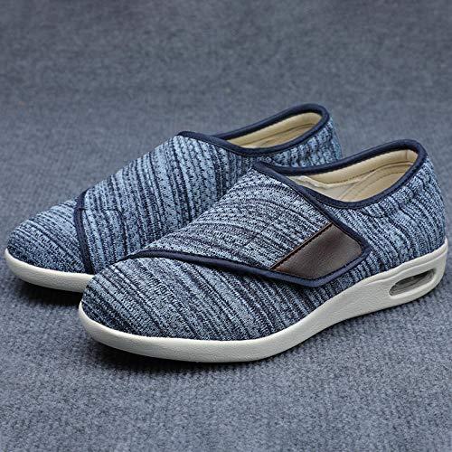 B/H CóModa Artritis Edema Zapatos Hinchados,Agregue Fertilizante para ensanchar los Zapatos Casuales,...