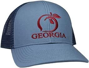 Peach State Pride Georgia Mesh Back Trucker Hat