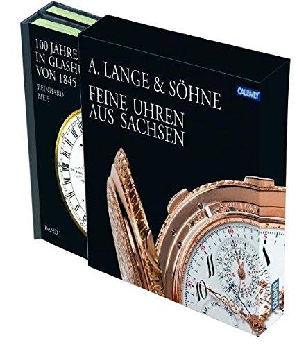 A. LANGE & SÖHNE: 2 Bände