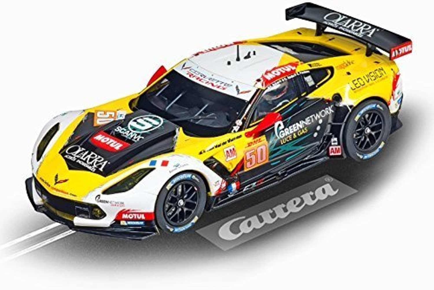 Digital 124 Chevrolet Corvette C7.R No.50 - 1 24 Scale Slot Car by Carrera USA