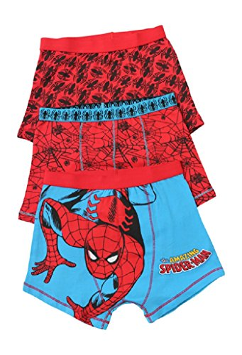 Ozmoint Spiderman Jongens 3 per pak ondergoed Trunk Style Briefs (2-12 jaar)