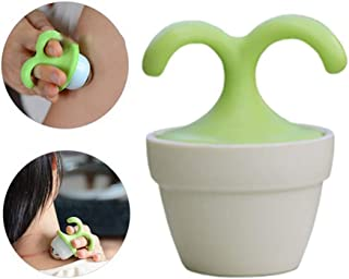 3pcs - Mini Handheld Plant Massager Roller Ball - Relaxation - Cooling Massage for Neck, Arms, Legs, Feet - Office, Home or On-The-Go *Great for Gifts* Free Shipping by Rich Rose Supply Co.