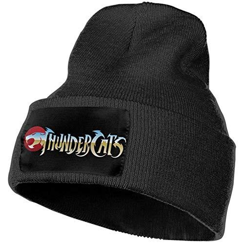 Fomini Thundercats Unisex Deporte al Aire Libre de Punto Beanie Sombreros de Moda c¨¢Lido y c¨Modo Grueso Suave el¨¢Stico Gorra de Moda de Invierno