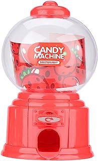 Zerodis Jeu D'imitation Distributeur de Bonbon Chewing Gum Machine à Bonbons Tirelire Machine à Sucreries Jeu de Rôle Comm...