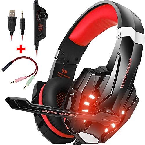 CIC Kotion Each Fone De Ouvido G9000 Gamer - Vermelho