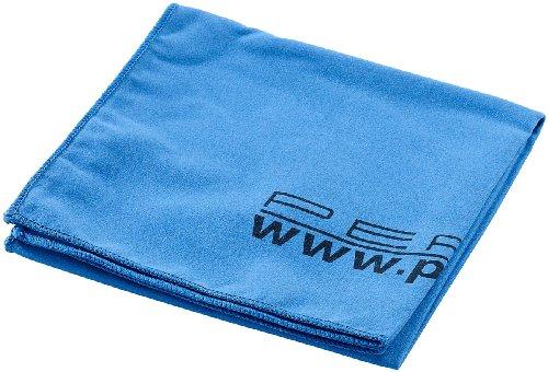 PEARL Extra saugfähiges Mikrofaser-Handtuch 80 x 40 cm, blau