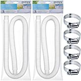 SEWANTA Replacement Hose for Above Ground Pools [Set of 2] 1.25
