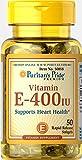 Puritan's Pride Vitamin E-400 IU 50 softgels