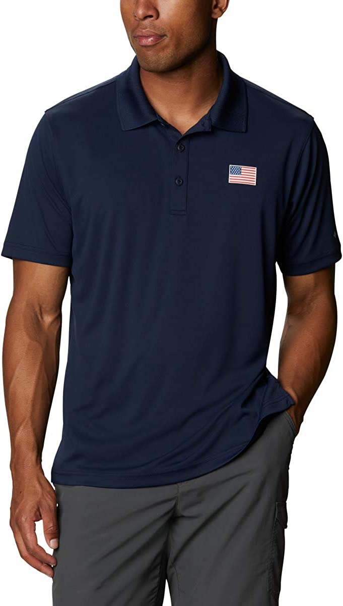 Columbia Men's Terminal Flag Polo Tackle Free shopping shipping on posting reviews
