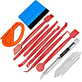 GUGUGI Car Wrapping Vinyl Tool Kit Window Film Tint Tools Set with Car Wrap Edge Trimming Squeegee, Vinyl Squeegee, Utility Knife Blade
