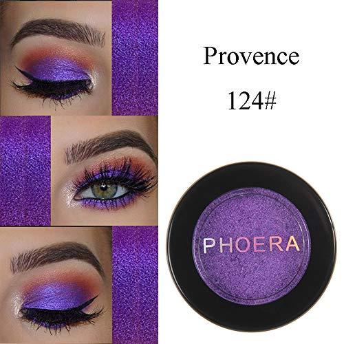 Cwemimifa Eyeshadow Palette Glitzer,PHOERA Glitter Shimmering Colors Lidschatten Metallic Eye...