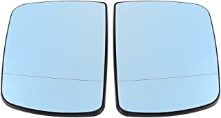 Rückspiegelglas, Auto Blendschutz Türflügel links & rechts Rückspiegelglas beheizt für X5 E53 1998 2006