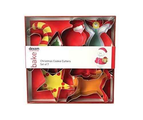 Dexam Swift Lot de 7 emporte-pièces de Noël