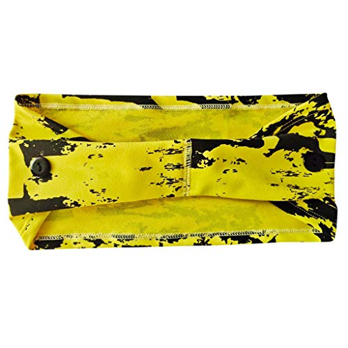Tie-Dye Headband Protect Your Ears Holder Hippie Bandana Head Wrap Cover Retro Flower Vintage Headwrap Hair Band Sports Elastic Sweatband Best for Running Cycling Hot Yoga and Athletic Workouts