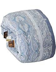 昭和西川 掛けふとん ブルー シングル 最高級羽毛布団マザーグース 420DPダウン93% Amazon企画MGD93