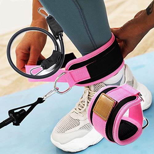 Goey Hip fitness elastische band set trekkoord accessoire kit been heup training elastische band enkelband